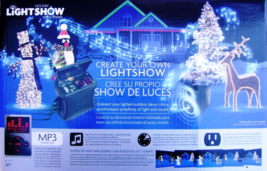 Welcome to Christmas Radiance Gemmy Lightshow Controller